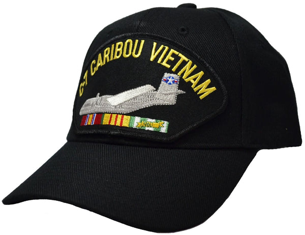 C-7 Caribou Vietnam Cap with patch