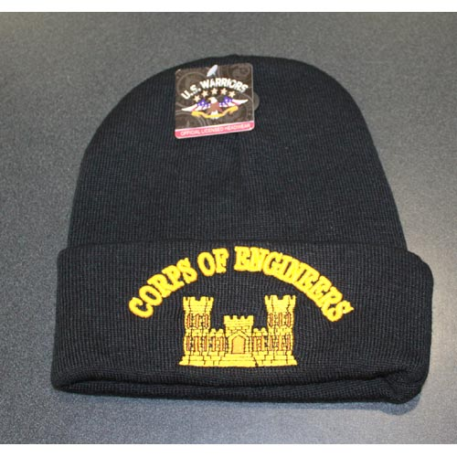 Corp of Engineers Cuffed Beanie