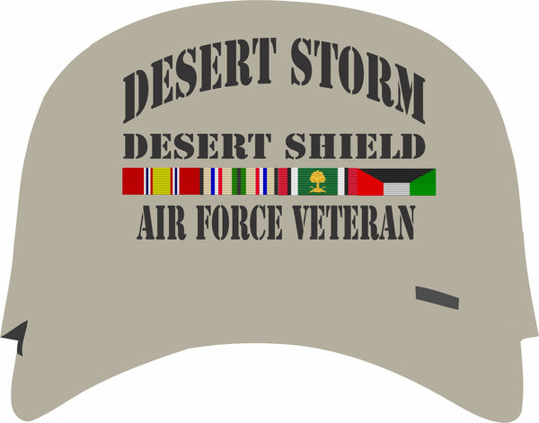 Desert Storm, Desert Shield Air Force Tan Cap