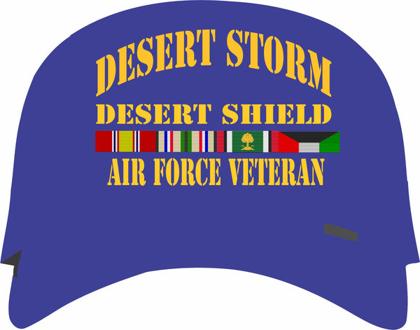 Desert Storm, Desert Shield Air Force Navy Blue Cap
