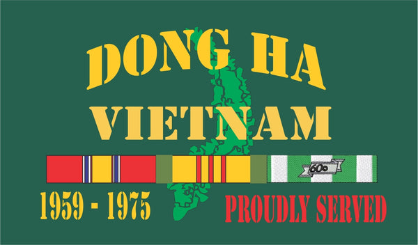 Dong Ha Vietnam Velcro Patch
