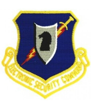 Air Force Electronic Security Command Patch