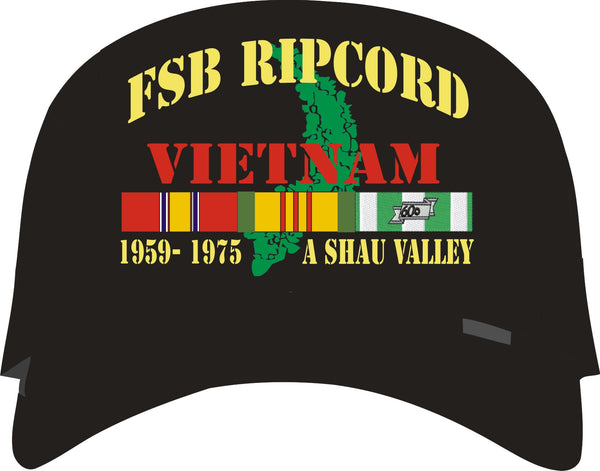 Fire Support Base Ripcord A Shau Valley Vietnam Veteran Cap