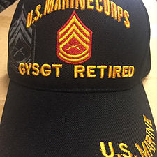 US Marine Corps Gunny Sgt Retired