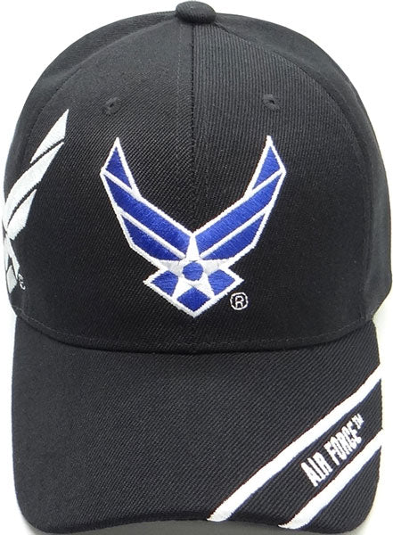 Air Force Black with Wings