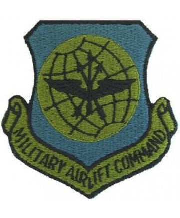 Air Force Military Airlift Command subdued Patch