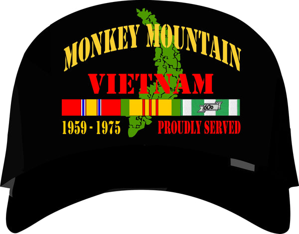 Monkey Mountain Vietnam Veteran Cap