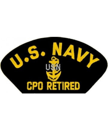 US Navyt CPO Retired Patch