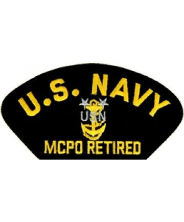 US Navy MCPO Retired Patch