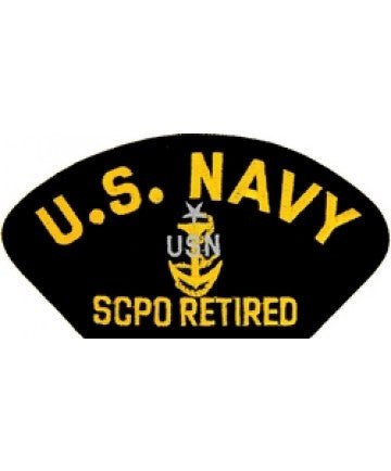 US Navy SCPO Retired Patch