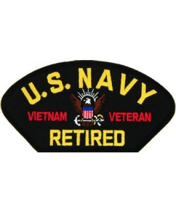 US Navy Retired Vietnam Veteran Patch