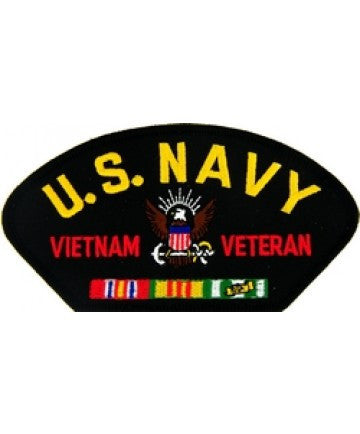 US Navy Vietnam Veteran Patch with ribbons
