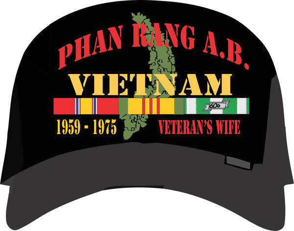 Phan Rang Reunion Cap with Veteran's Wife