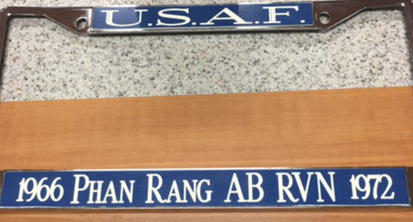 Custom Phan Rang License Plate Frame
