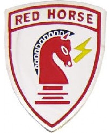 Red Horse Hat Pin