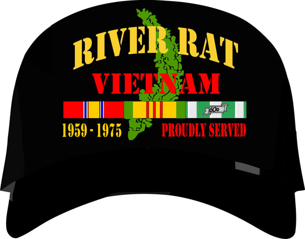 River Rat Vietnam Veteran Cap
