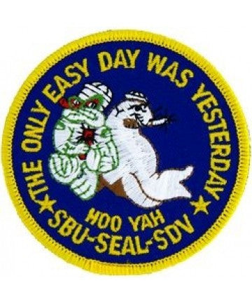 US Navy SBU Seal Patch