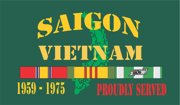 Saigon Vietnam Velcro Patch