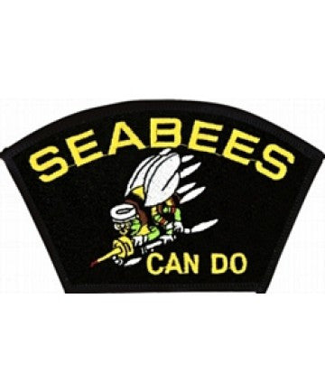 US Navy Seabees Can Do Patch