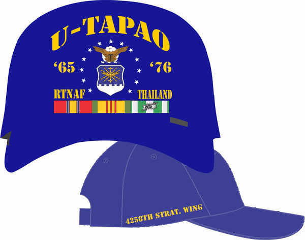 Air Force Thailand U-Tapao 4258th Strat Wing Cap