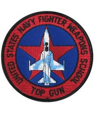 Top Gun Weapons School Patch