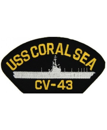 USS Coral Sea CV-43 Patch