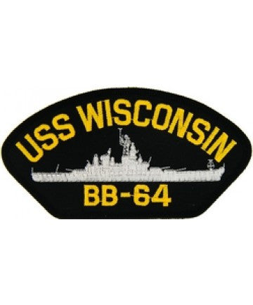 USS Wisconsin BB-64 Patch
