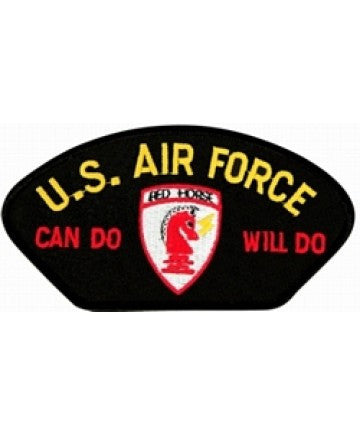 Air Force Red Horse Can Do Will Do Patch