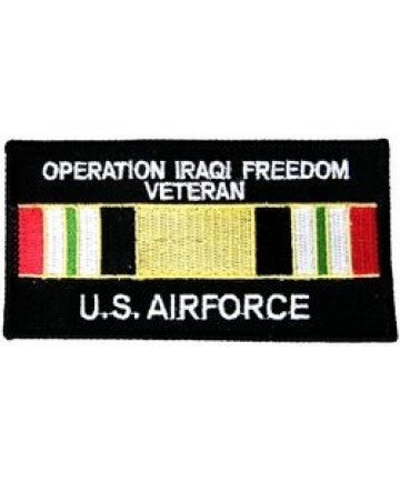 "Air Force OIF 3"" square patch"