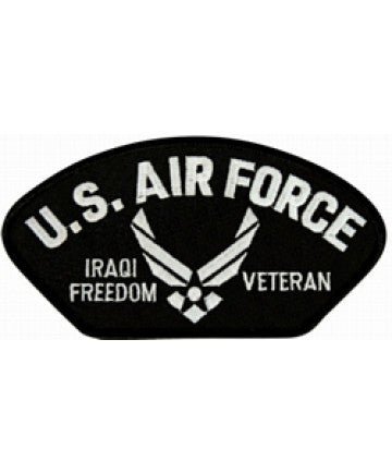 US Air Force Iraqi Freedom Veteran Patch