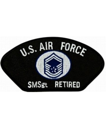 Air Force Senior Master Sgt. E-8 Patch