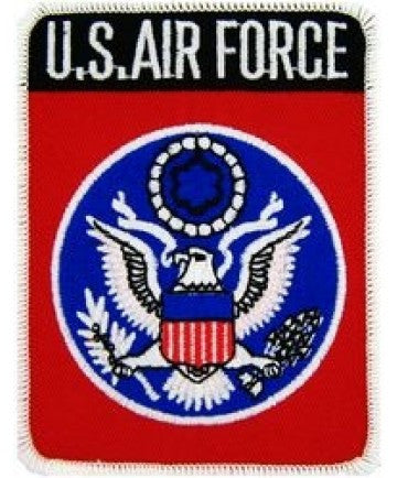 "Air Force 4"" Patch"