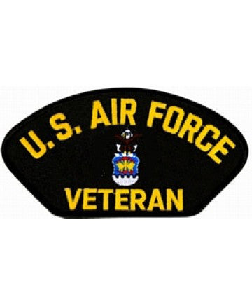 Air Force Veteran Hat Patch