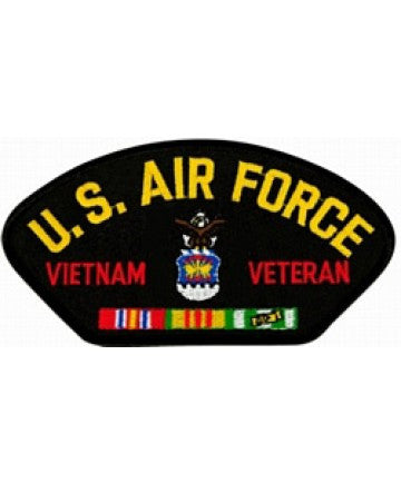 Air Force Vietnam Patch with ribbons
