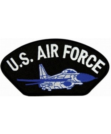 Air Force Patch with Plane