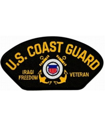 US Coast Guard Iraqi Freedom Veteran Patch