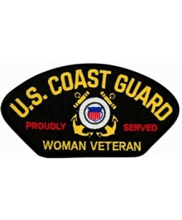 US Coast Guard Woman Veteran Proudly Served
