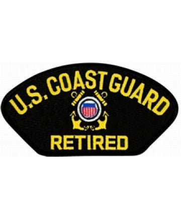 US Coast Guard Retired Patch