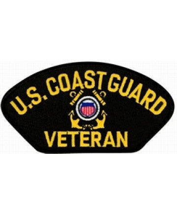 US Coast Guard Veteran Patch
