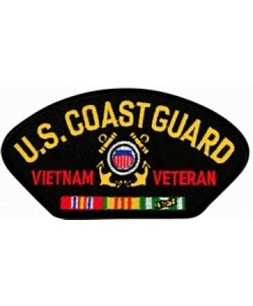 US Coast Guard Vietnam Veteran with ribbons