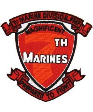 US Marine Corps 7th Rgt.