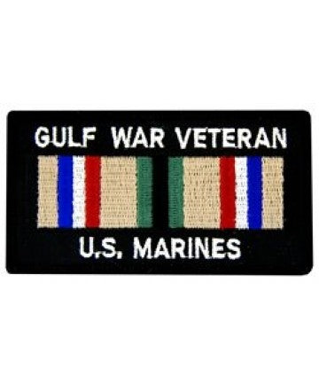 US Marine Corps Gulf War Veteran Square Patch