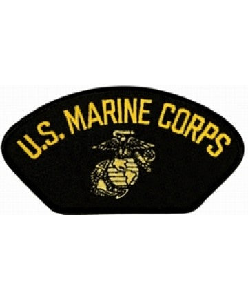 US Marine Corps Insignia Black Patch