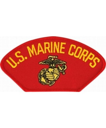 US Marine Corps Insignia Red Patch