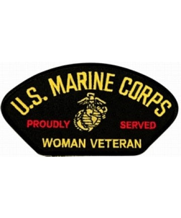 US Marine Corps Proudly Served Woman Veteran