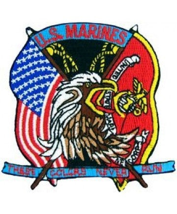 US Marine Corps These Colors Never Patch