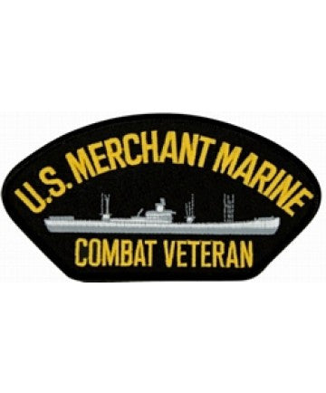 US Merchant Marine Combat Veteran Patch