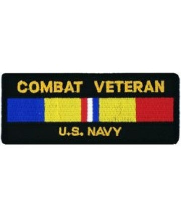 USA Navy Combat Veteran Patch