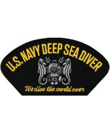 US Navy Deep Sea Diver Patch