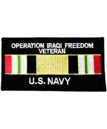 US Navy OIF Patch